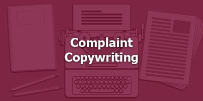 Complaint Copywriting