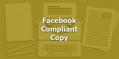 Facebook Compliant Copy