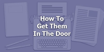 Episode 075 - Get Them In The Door w/ Tim Burt