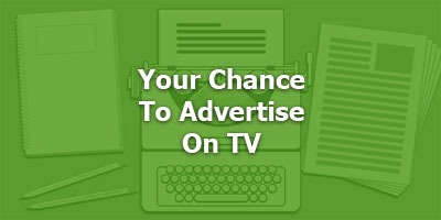 Episode 091 - Your Chance To Advertise on TV