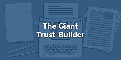 Episode 052 - The Giant Trust-Builder
