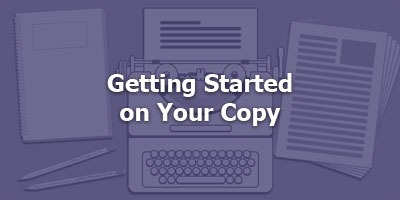 Episode 010 - Getting Started on Your Copy
